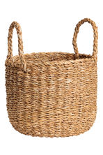 Braided storage basket - Natural - Home All | H&M CN 2