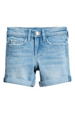 Denim shorts - Light denim blue - Kids | H&M CN 2