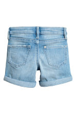 Denim shorts - Light denim blue - Kids | H&M CA 3