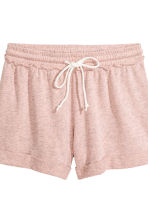 Lounge set with top and shorts - Old rose - Ladies | H&M 3