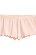 Pyjamas with shorts and top - Powder pink - Ladies | H&M 4