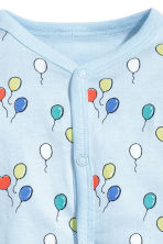 Printed all-in-one pyjamas - Light blue/Balloons - Kids | H&M 2