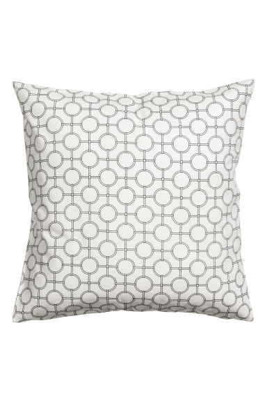 Copricuscino fantasia - Bianco - HOME | H&M IT 1