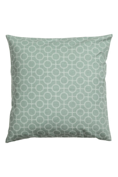 Copricuscino fantasia - Verde nebbia - HOME | H&M IT 1
