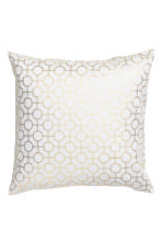 Copricuscino fantasia - Bianco/dorato - HOME | H&M IT 2