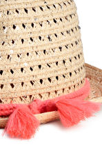 Straw hat - Natural - Kids | H&M CN 2