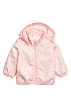 Outdoor jacket - Powder pink/Rabbits - Kids | H&M 1