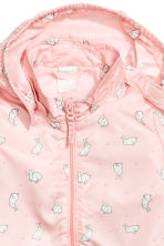 Outdoor jacket - Powder pink/Rabbits - Kids | H&M CN 2
