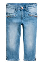 Skinny Fit Capri Jeans - Denim blue - Kids | H&M 2
