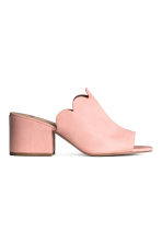 Mules - Powder pink -  | H&M 1