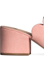 Mules - Powder pink -  | H&M 4