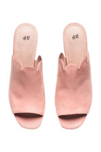 Mules - Powder pink -  | H&M 2