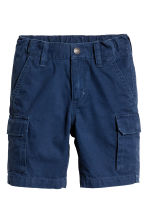 Cargo shorts - Dark blue - Kids | H&M 2