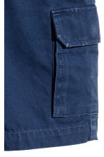 Cargo shorts - Dark blue - Kids | H&M 3