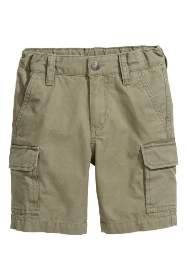 Cargo shorts - Khaki green - Kids | H&M CA 1
