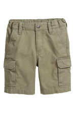 Cargo shorts - Khaki green - Kids | H&M 1