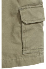 Cargo shorts - Khaki green - Kids | H&M CA 2