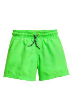 2-pack swim shorts - Neon green - Kids | H&M CN 2