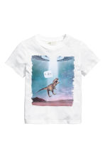 T-shirt con stampa - Bianco/dinosauro -  | H&M IT 2