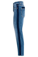 Straight Cropped Regular Jeans - Denim blue - Ladies | H&M 4