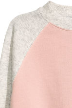 Cropped sweatshirt - Powder pink - Ladies | H&M 3