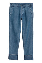 Chinos i denim - Denimblå - Men | H&M FI 2