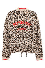 Satin bomber jacket - Leopard print - Ladies | H&M 3