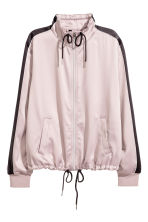 Satin jacket - Old rose - Ladies | H&M 2