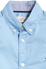Generous fit Cotton shirt - Light blue - Kids | H&M CN 3