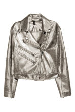 Biker jacket - Silver - Ladies | H&M 2