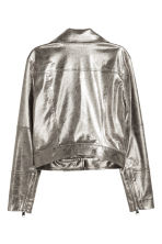 Biker jacket - Silver - Ladies | H&M 3