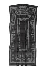 Patterned bath towel - Anthracite grey - Home All | H&M CN 3