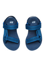 Sandals - Dark blue -  | H&M CA 2