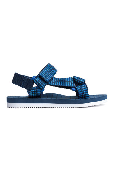 Sandals - Dark blue -  | H&M CA 1