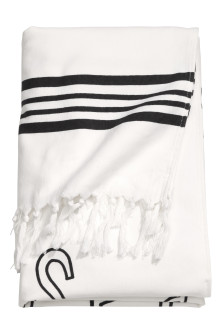 Patterned beach towel