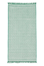 Jacquard-weave towel - Green/Patterned - Home All | H&M CN 2
