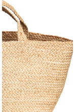 Sac de plage en jute - Naturel - Home All | H&M FR 3
