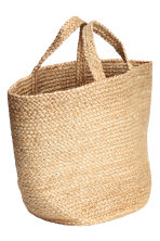 Jute beach bag - Natural - Home All | H&M CN 2