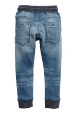 Super Soft denim joggers - Denim blue -  | H&M 3