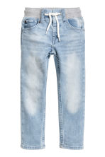 Jeans pull-on - Azul denim claro -  | H&M PT 2