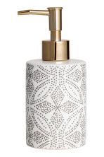 Dispenser per sapone in gres - Bianco/fantasia - HOME | H&M IT 2