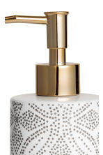 Dispenser per sapone in gres - Bianco/fantasia - HOME | H&M IT 3