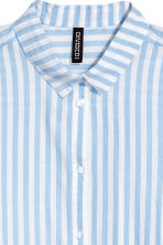 Cotton shirt - Light blue/Stripe - Ladies | H&M 3