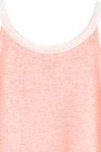 Printed vest top - Light apricot -  | H&M 5