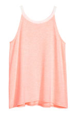 Printed vest top - Light apricot -  | H&M 2