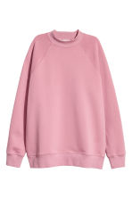 Sweatshirt with raglan sleeves - Vintage pink - Ladies | H&M 2