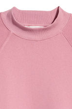 Sweatshirt with raglan sleeves - Vintage pink - Ladies | H&M 3