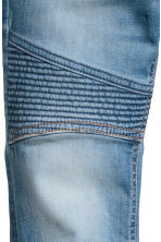 Skinny Fit Biker Jeans - Denim blue - Kids | H&M CN 5
