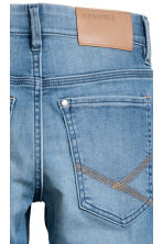 Skinny Fit Biker Jeans - Denim blue - Kids | H&M 4