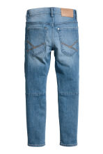 Skinny Fit Biker Jeans - Denim blue - Kids | H&M 3